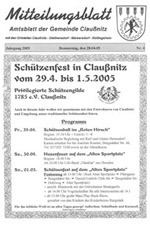 Amtsblatt April 2005