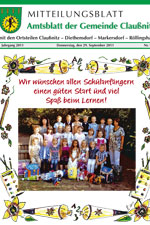 Amtsblatt Claußnitz September 2011