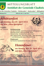 Amtsblatt Claußnitz April 2012