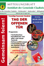 Amtsblatt Claußnitz August 2012
