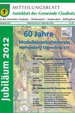 Amtsblatt Claußnitz September 2012