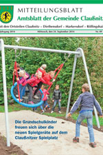 Amtsblatt Claußnitz September 2014