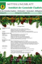 Amtsblatt Claußnitz November 2016